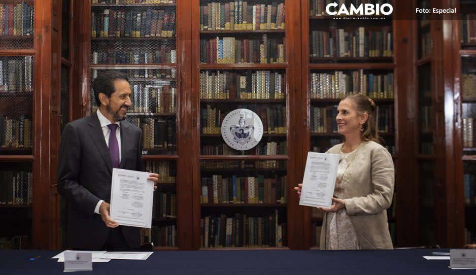 Refrenda Beatriz Gutiérrez Müller su compromiso por la universidad libre, autónoma, laica, gratuita y de calidad