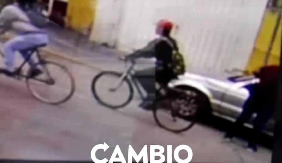 VIDEO: En minutos ratota se roba un Tsuru en Texmelucan