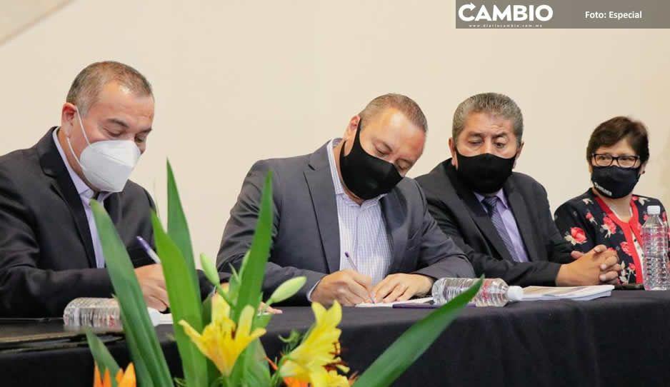 Gobierno de Atlixco firma convenio con  Secretaría de Seguridad Pública estatal