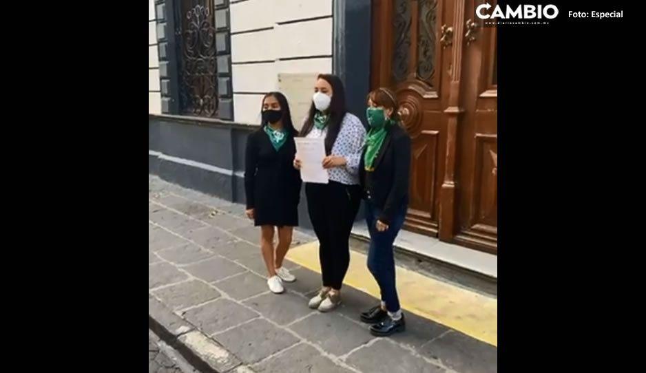 Presentan iniciativa para despenalizar el aborto antes de las 12 semanas en Puebla