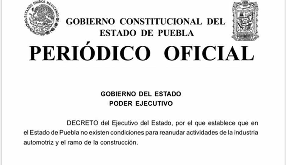 Gobierno estatal deja en vilo sanciones para armadoras y constructoras que reanuden actividades el 1 de junio