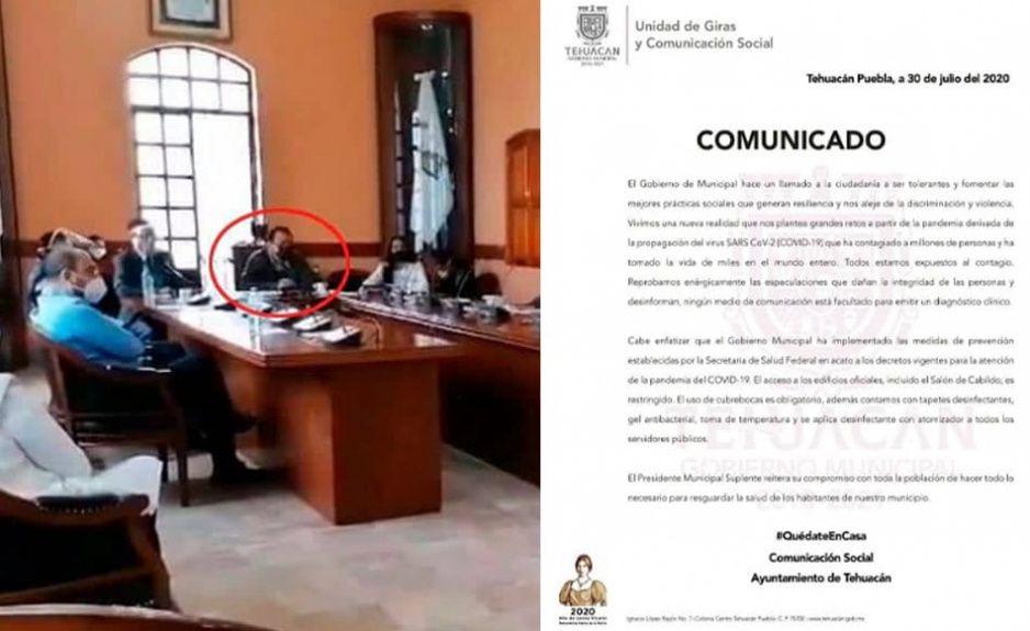 Ayuntamiento de Tehuacán pide precaución tras positivo de Caballero