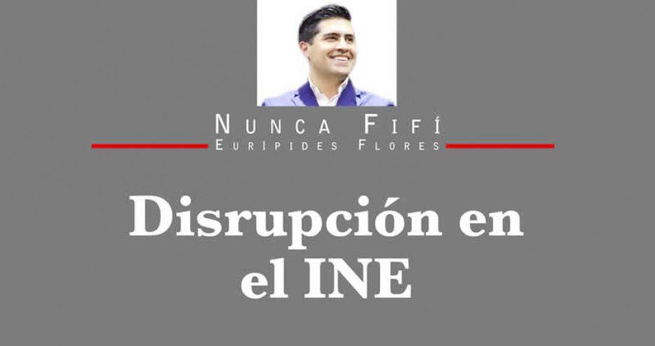 Disrupción en el INE
