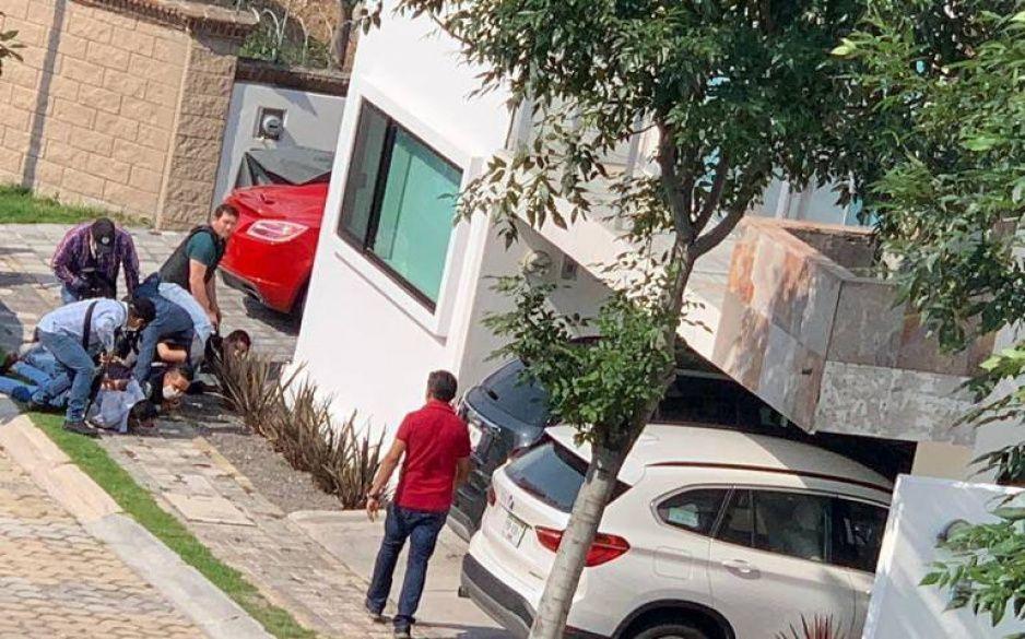 No hubo muertos, sólo dos heridos durante balacera en la zona de Angelópolis (EN VIVO)