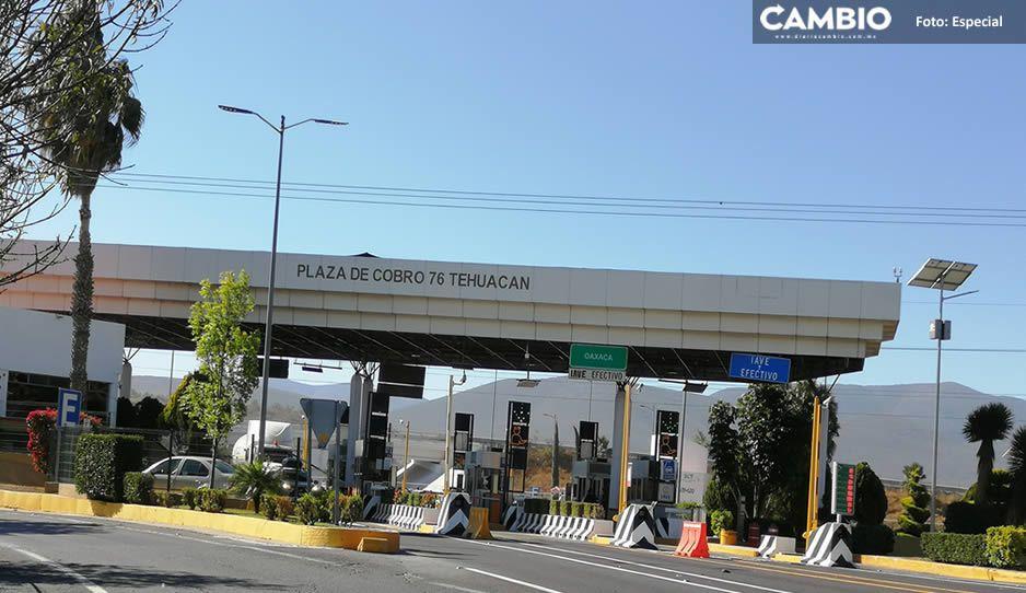 Comando armado asalta caseta de cobro en San Lorenzo Teotipilco