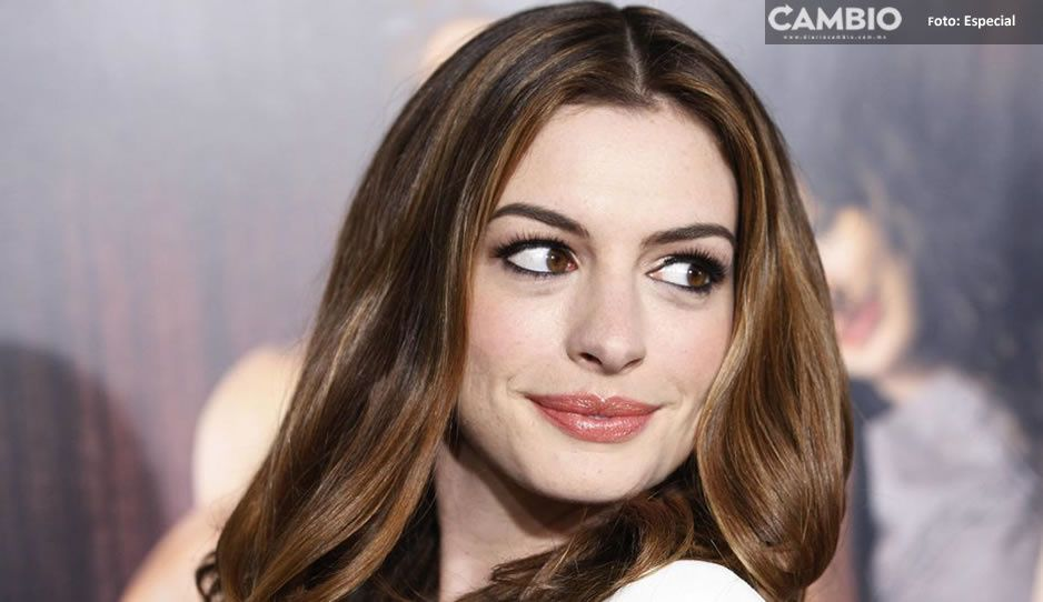¡OMG! Anne Hathaway protagonizará película del Covid (VIDEO)