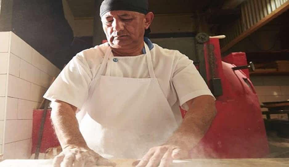 Maestro pizzero. Fotografía ilustrativa