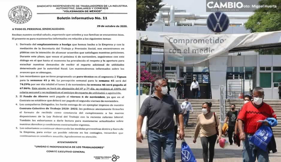 Amaga Sitiavw con ir huelga por falta de pago de utilidades