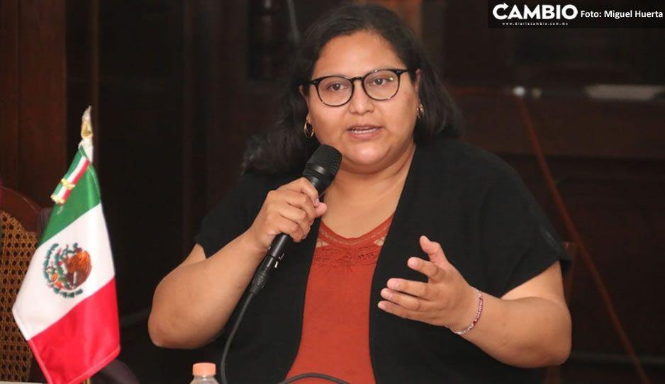Claudistas reciben a Citlalli Hernández, aspirante a la Secretaria General del CEN de Morena