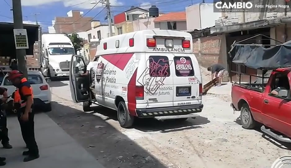 Albañil se electrocuta mientras trabajaba frente al mercado Zapata y termina con quemaduras graves