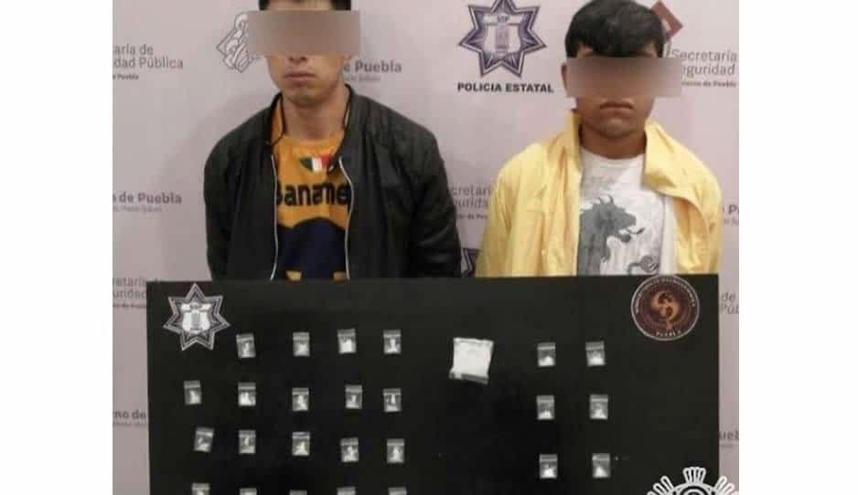 Los atraparon cuando iban de camino a hacer una venta de cristal en Tehuacán