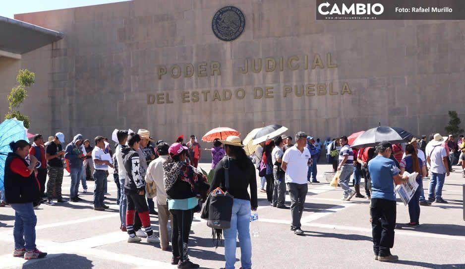 Poder Judicial del Estado para un mes por COVID-19, audiencias serán a puerta cerrada