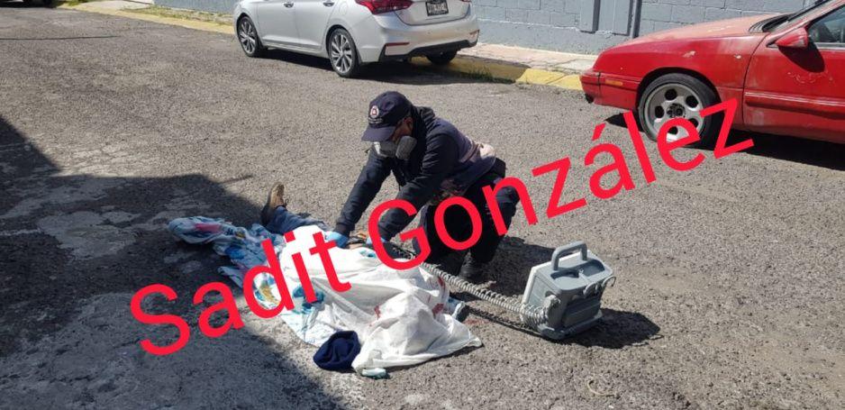Muere electrocutado albañil en San Andrés Cholula