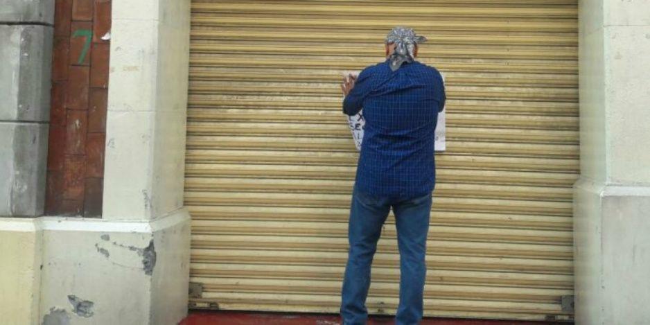 Bajan cortinas 500 negocios de San Andrés Cholula por pandemia