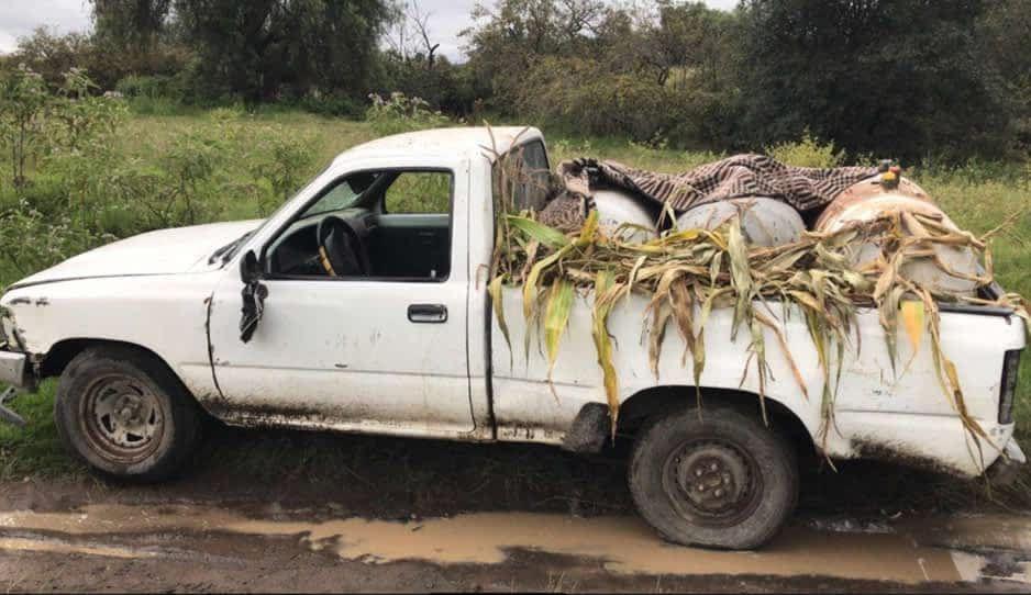 Camioneta huachigasera