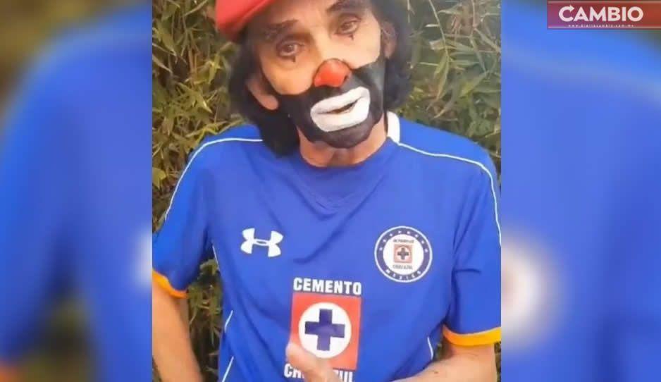 Cepillín enfurece contra la Liga MX por no darle el título a Cruz Azul