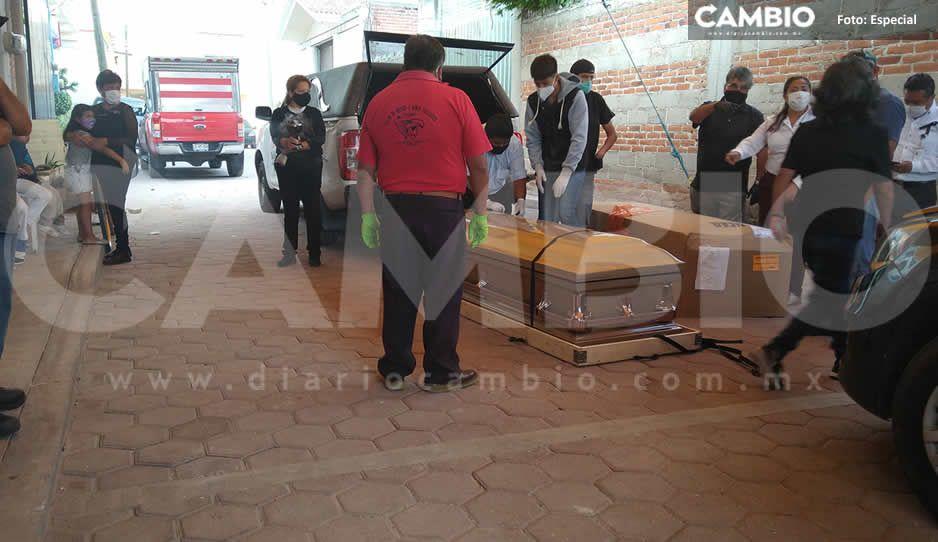 Instituto Poblano de Migración entrega cadáver de migrante en Texmelucan (VIDEO)