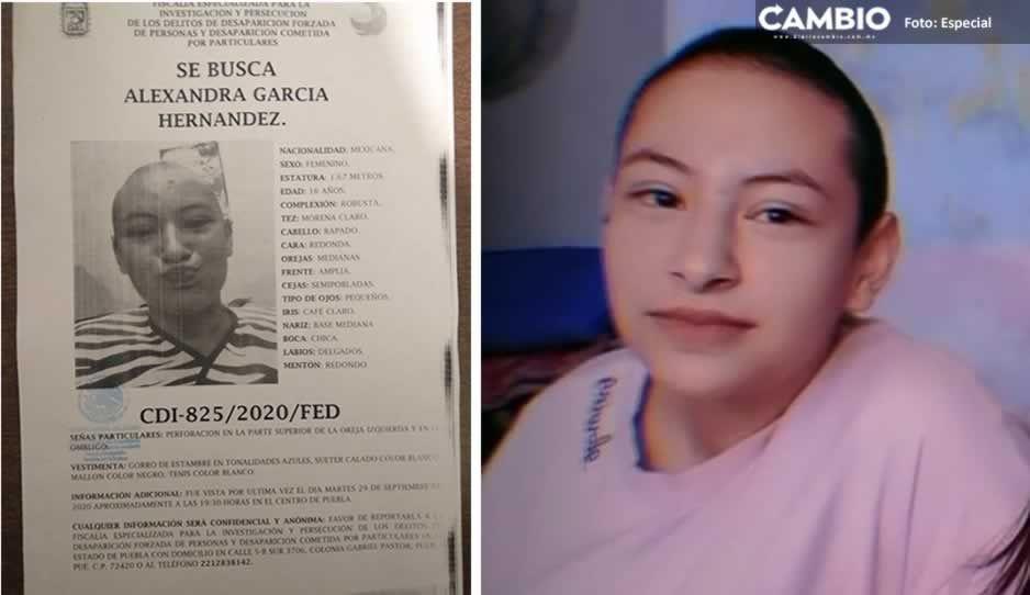 Desaparece Alexandra García de 11 años en Centro Histórico ¡Ayuda a Localizarla!