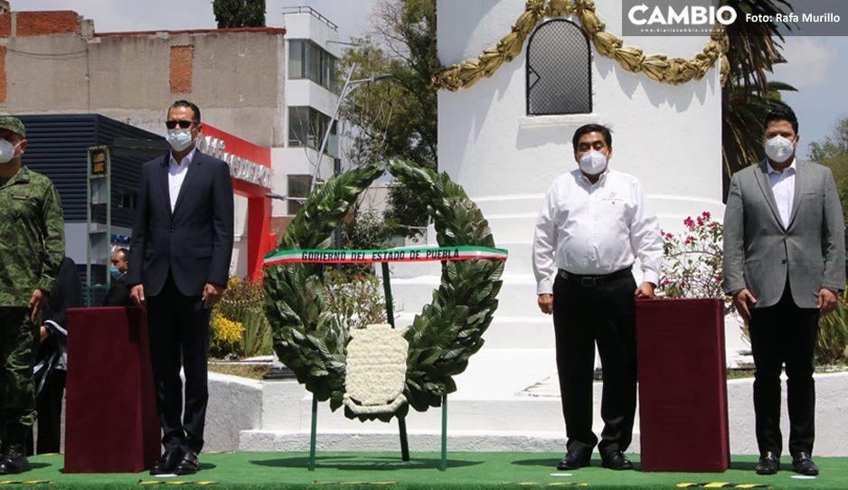 Encabeza Barbosa ceremonia de aniversario luctuoso de Miguel Hidalgo