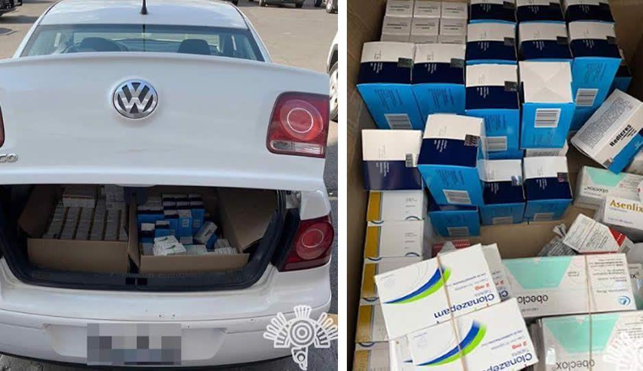 Narcomenudista escondía sus pastillas en cajitas de medicamentos; ahora está detenido