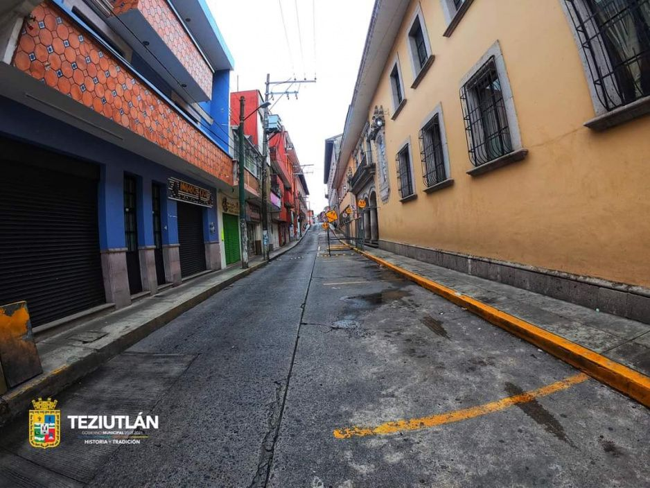 Muertes y contagios por covid dejan otro domingo fantasma en Teziutlán (FOTOS)
