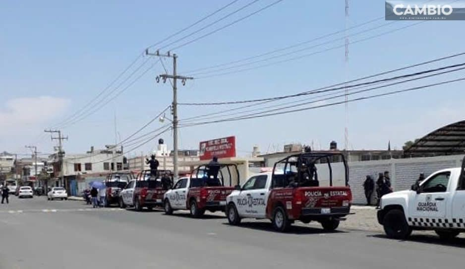 Investiga Fisdai explosiones en comunidad de Huejotzingo