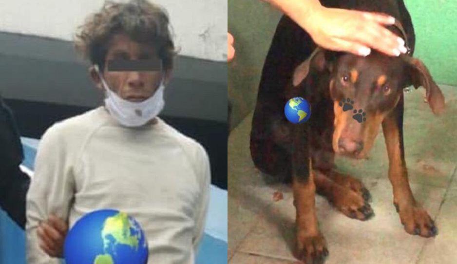 Vecinos golpean y capturan a inmigrante zoofílico que violaba a perrita en plena calle