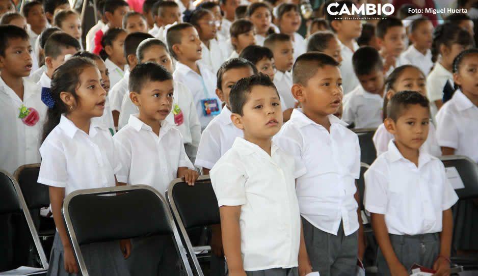 Mañana termina ciclo escolar en Puebla; reinscripción empieza el 20 de julio