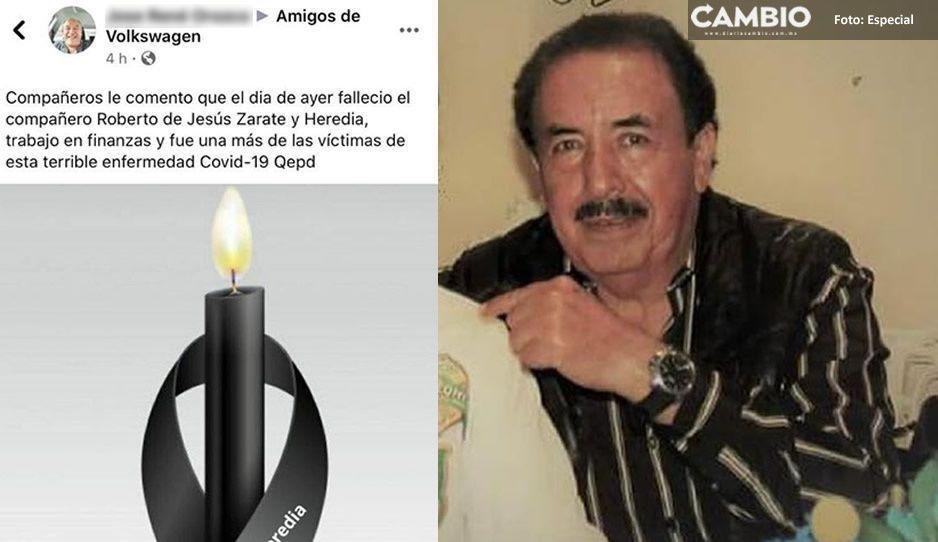 Fallece otro trabajador de VW por COVID; Roberto de Jesús era administrativo del área de finanzas