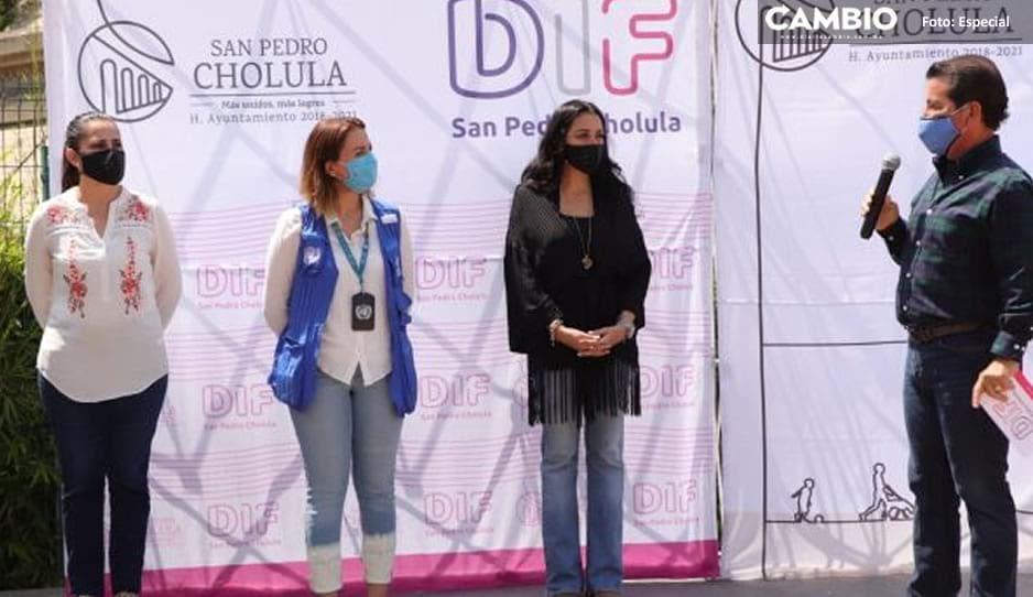 San Pedro Cholula no bajará la guardia y el uso de cubreboca será obligatorio: Luis Alberto Arriaga