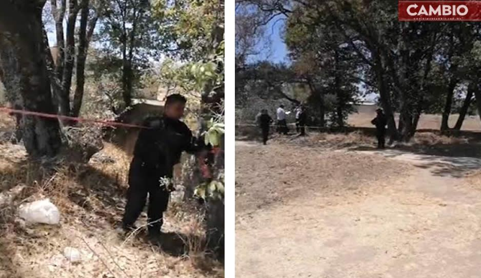 Hallan cadáver al fondo de barranca en Amozoc (VIDEO)
