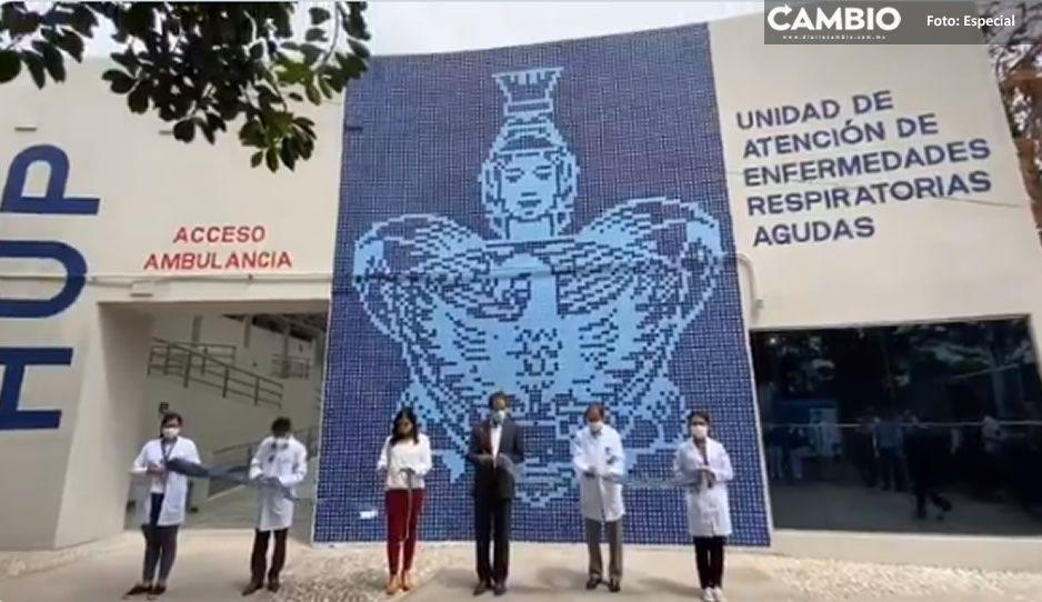 Oculta Esparza monto y empresa de la remodelación del Hospital Universitario para atender Covid