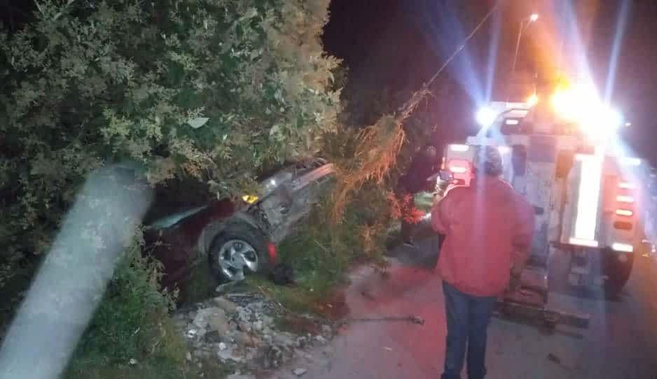Automovilista cae en barranca de 7 metros en San Sebastián de Aparicio ¿estamos borrachos o qué?