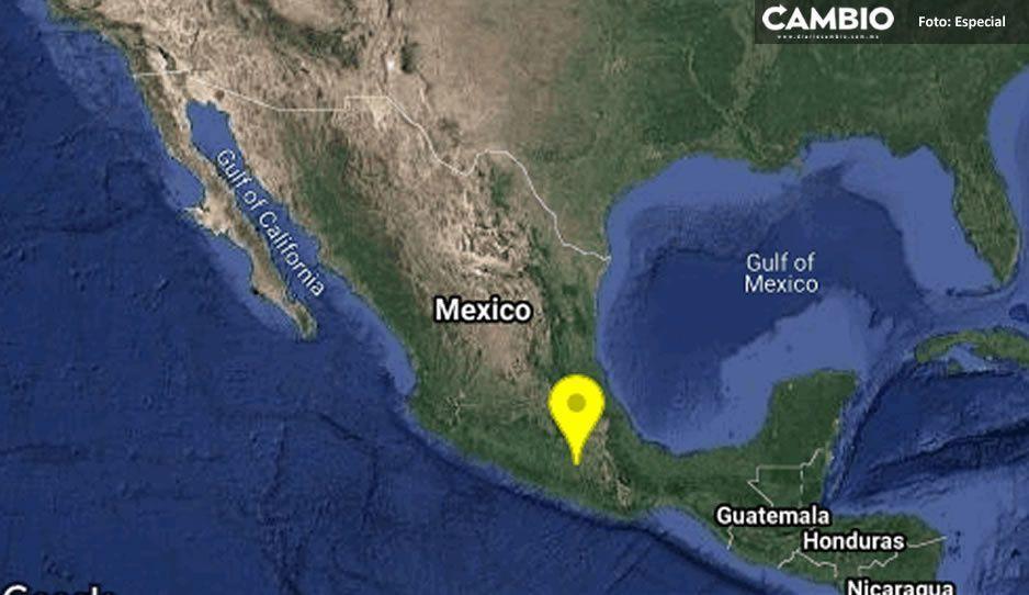 Reportan sismo leve en Puebla, el epicentro fue en Guerrero con magnitud de 4.7
