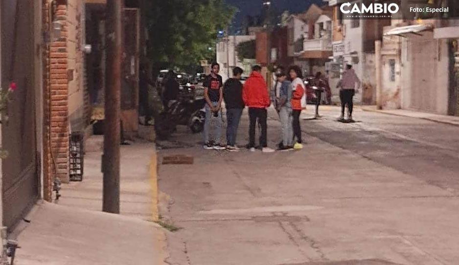 ¡No entienden! Sacan a 50 jóvenes de una fiesta Covid en Puebla (VIDEO)