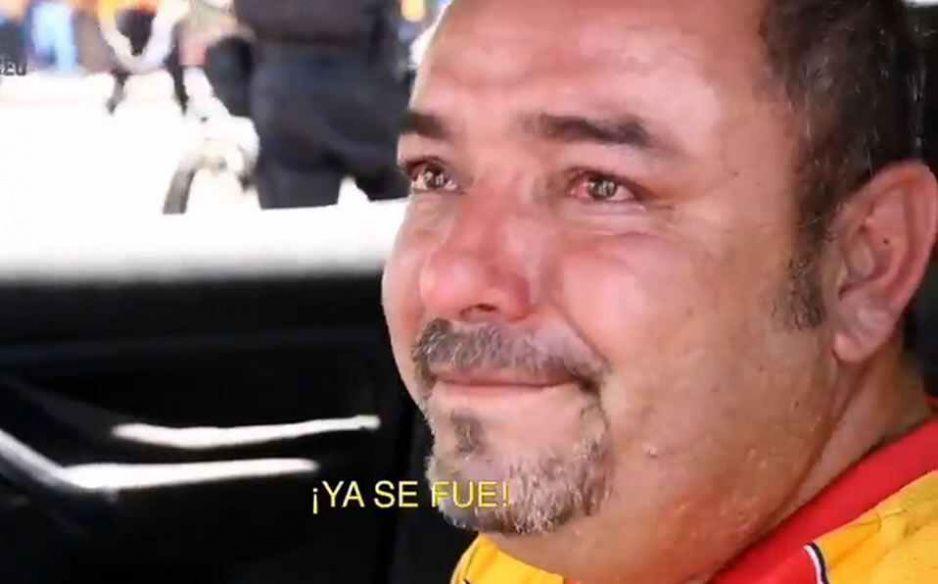 Aficionado desconsolado llora por la mundanza de Monarcas a Mazatlán (VIDEO)