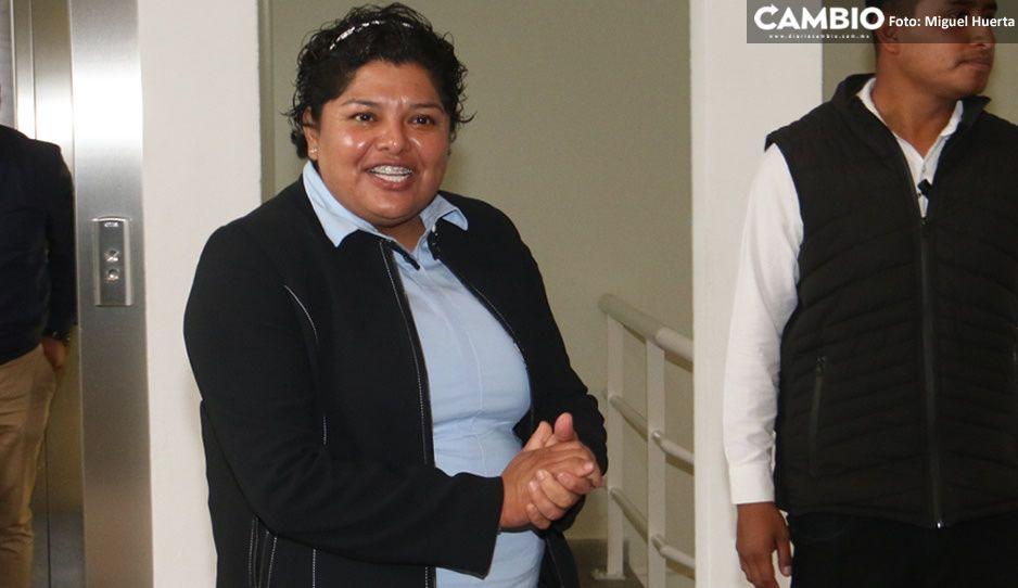 Karina Popoca no apoya el paro del 9 de marzo y minimiza crímenes contra mujeres