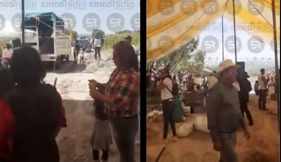 VIDEO: Adiós tapabocas, hola carrera de caballos en Torija