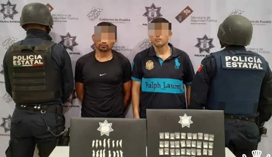 ¡Par de fichitas! Caen ladrones de motos y narcomenudistas en Tepanco de López