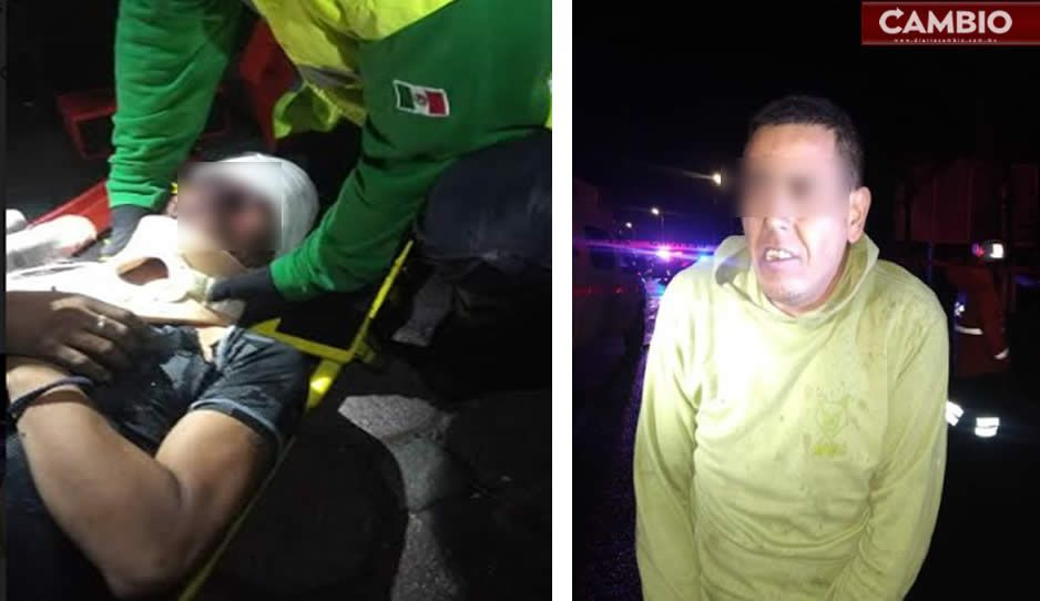 Chilango y jarocho, los delincuentes que chocaron tráiler robado en casa de Esperanza