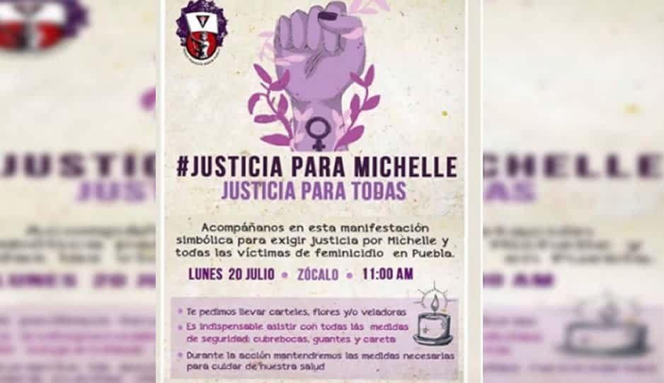 Feministas marcharán en protesta por el asesinato de Michelle Vera