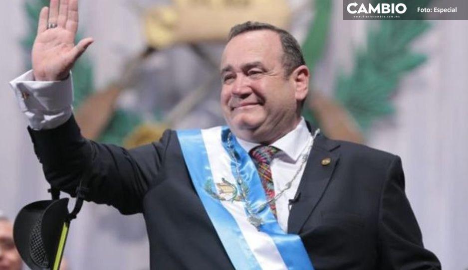 OFICIAL: Presidente de Guatemala da positivo a Covid-19