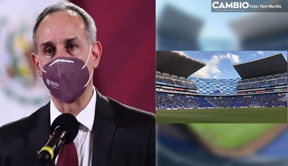 López Gatell en contra de reabrir el Cuauhtémoc: son nodos de propagación del bicho (VIDEO)