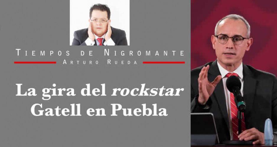 La gira del rockstar Gatell en Puebla