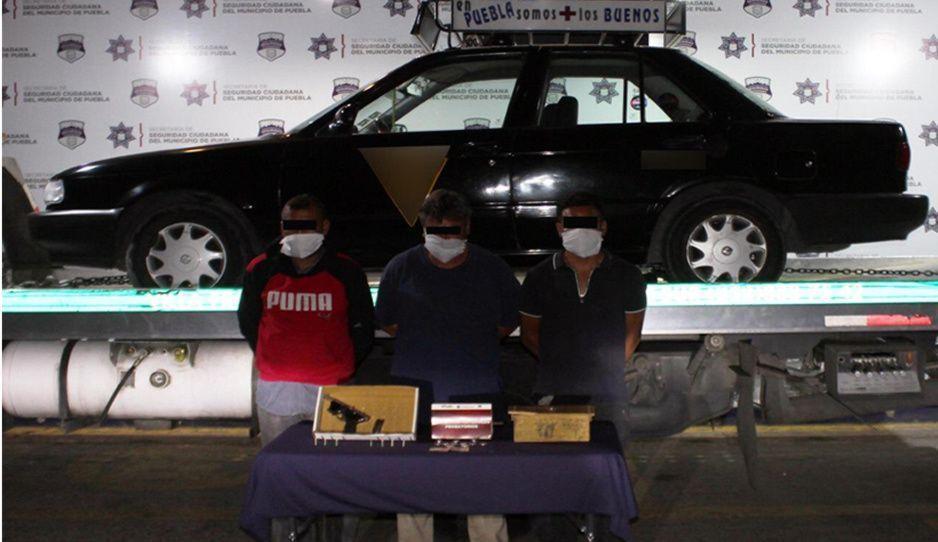 Cae banda dedicada al robo de gasolineras y farmacias en Puebla