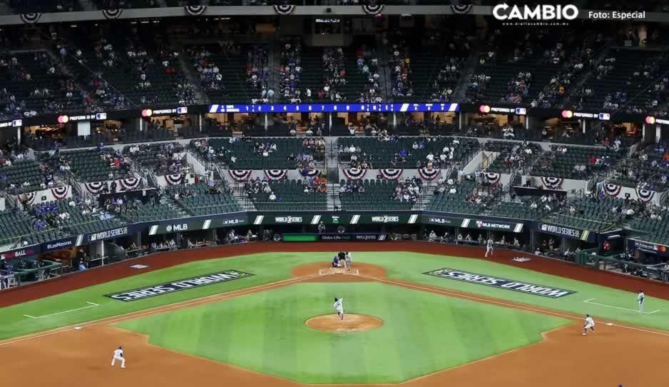Dodgers-Rays el juego menos visto en una Serie Mundial