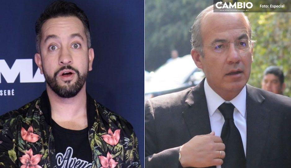 """Felipe Calderón salió en defensa de Chumel Torres; """"AMLO también pone apodos"""", dice"""