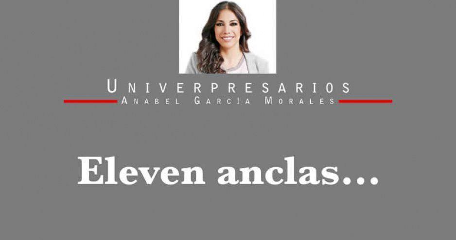 Eleven anclas…