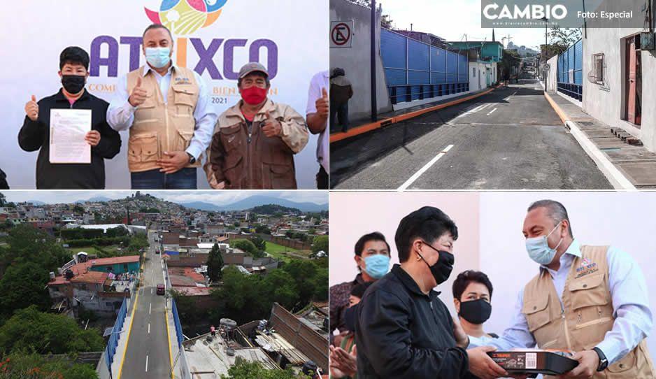 Inaugura Guillermo Velázquez puente vehicular de más de 7 millones de pesos