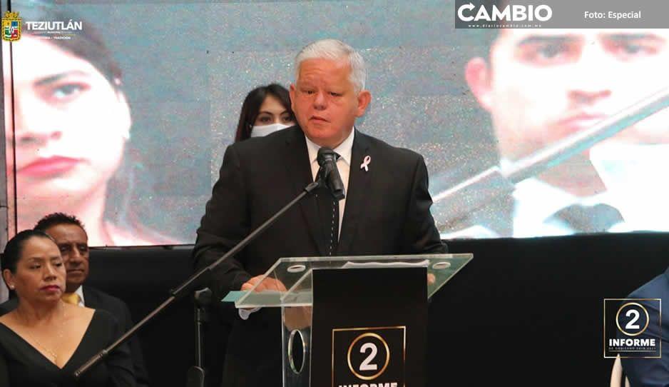 II Informe de Carlos Peredo: Teziutlán progresa en seguridad e infraestructura